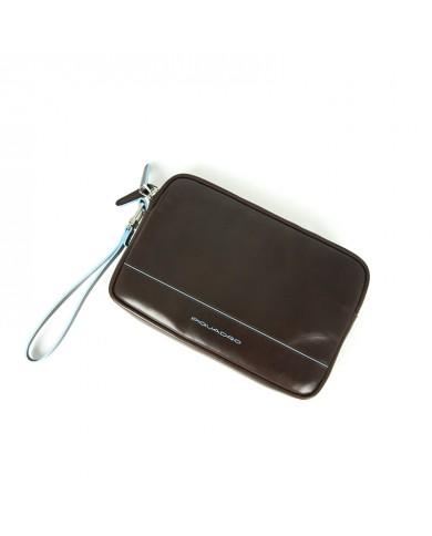 Gianni Chiarini Crossbody Leather Bag Dark Grey