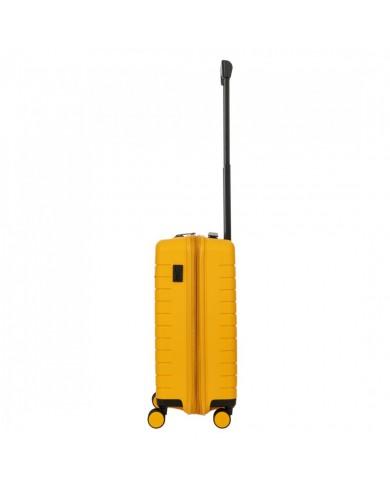 """Trolley bagaglio a mano in tessuto  e pelle, Bric's """"X-Travel"""" - Rosso/Cuoio"""