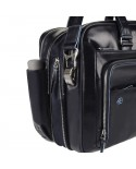 """Leather bag with compartment for tablet, Piquadro """"Vibe"""""""