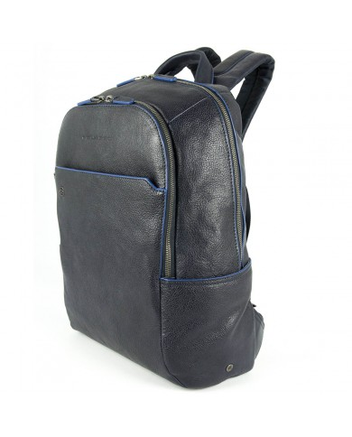 "Leather bag, with compartments for pc and tablet, Piquadro ""Vibe"""