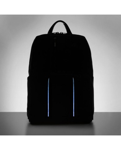 Messenger piccola in pelle con tasca per pc e tablet Piquadro, Linea Galileo W52