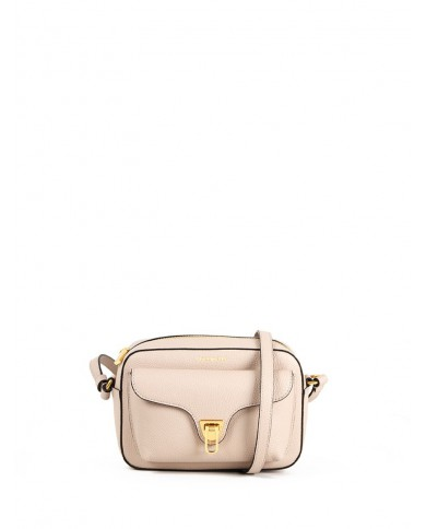 "Blumarine Satchel bag made with logoed fabric and leather, with shoulder strap, Blumarine ""Signature"" Grey / White"