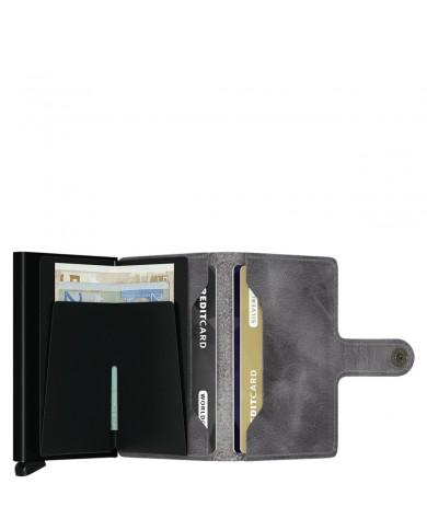 """Borsa uomo piccola con tasca per tablet 7"""", Piquadro """"Yukon S89 - Antracite/Nero"""