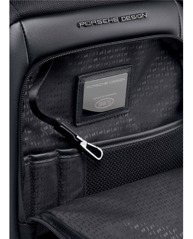 """Backpack with compartments for notebbok 14"""" and tablet, Piquadro """"P16"""" - Blue"""