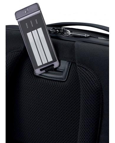 """Cartella in tessuto con tasca per pc 15"""" , Piquadro """"Yukon S89 - Avio"""