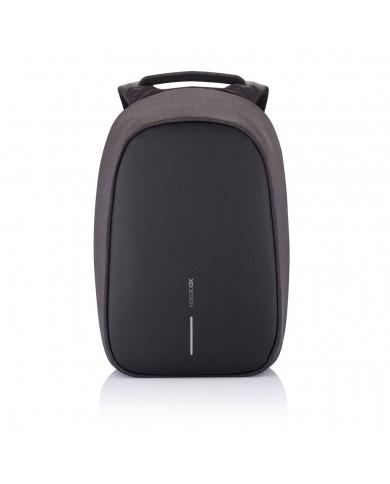 """Zainetto donna in nylon e pelle con tasca tablet, Piquadro """"Loire S91 - Nero"""