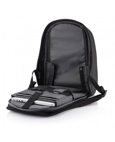 """Leather briefcase, with compartments for notebook 15,6"""" and tablet, Piquadro """"Thames S90 - Marrone"""