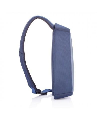 """Porta fogli verticale Piquadro in pelle da uomo, linea """"Blue square"""" - Nero"""