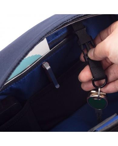 """Piquadro Men's leather wallet, """"Blue square"""" - Blue"""