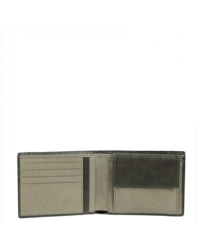 Borsa a mano grande in pelle rigida, con doppia tracolla , Gianni Chiarini made in Italy - Blu
