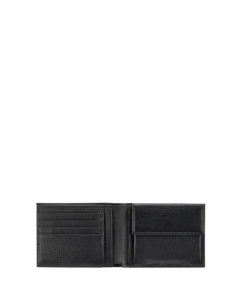"""Shopping bag in pelle con pochette estraibile in tessuto """"fiorato"""", Gianni Chiarini made in Italy - Fucsia/Nero"""
