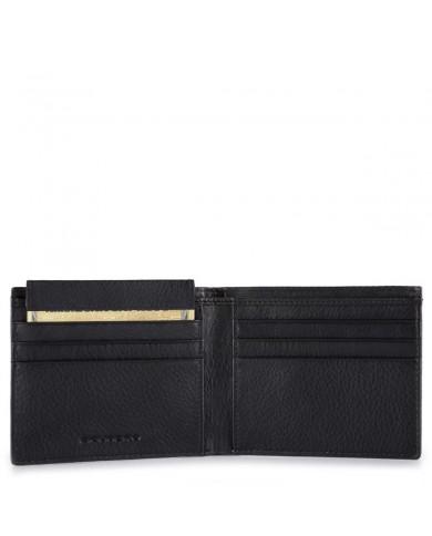 Shopping bag in pelle con pochette estraibile in tessuto, Gianni Chiarini made in Italy - Rosso