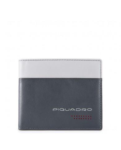 "Messenger  in pelle vintage con tasche per notebook 13"" e tablet, Piquadro ""Pulse Plus - Avio"