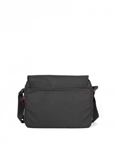 """Leather backpack with pockets for pc 13"""" and tablet 10"""" and pc, Piquadro """"Pulse"""" - Testa moro"""
