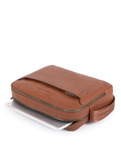 """Key case with snap hook , Y Not """"Fame in New York - Light brown"""