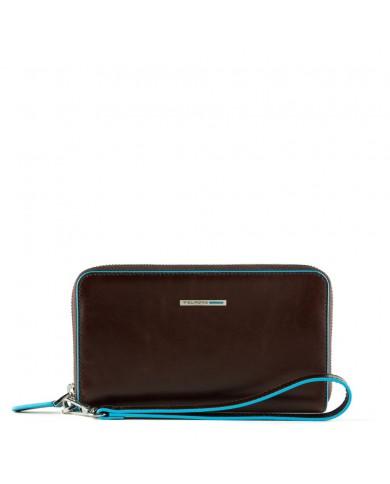 Borsa a mano in pelle decorata con borchie, Gianni Chiarini made in Italy - Nero