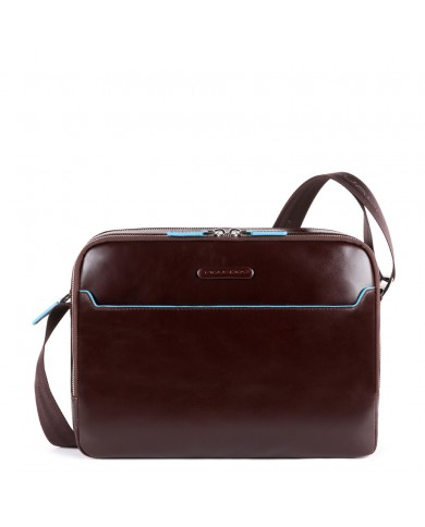 """Man's bag made with vintage leather, Roncato """"Panama DLX - Black"""