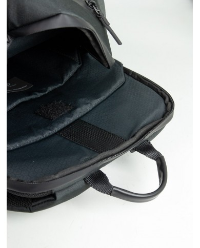 """Men's Leather bag, with two compartments and pocket for tablet 10"""", Piquadro """"Modus - Black"""