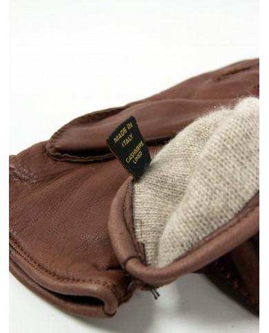 Cintura in pelle vintage altezza cm 3,5 Avirex - Marrone