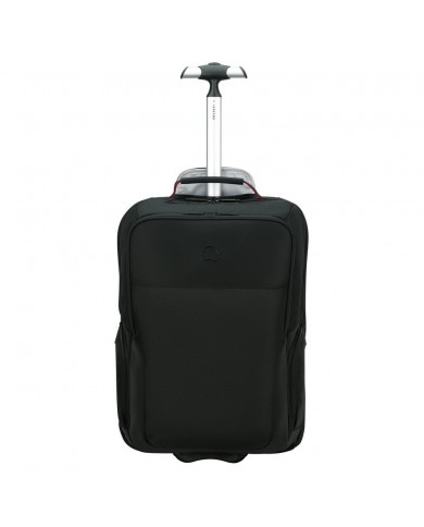 "Messenger piccola in tessuto e pelle, con porta notebook, Piquadro ""Orion W74"" - Black"